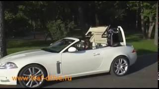 Тест драйв Jaguar XK / XKR в Москве 2008