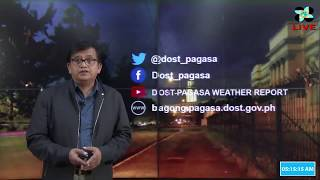 Public Weather Forecast Issued at 4:00 AM October 14, 2018