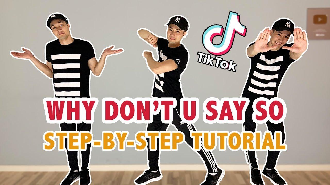 Doja Cat Say So Tutorial Tiktok Dance Youtube