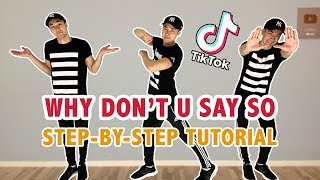 Why don't you say so 🎵here's the requested step by dance tutorial of how to do tiktok 😉 enjoy! feel free check out my other d...