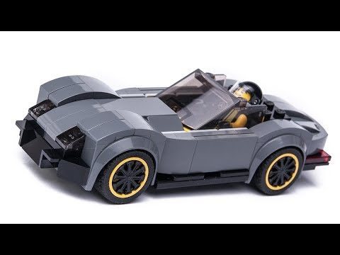 Lego Cars 8678 Ultimate Build Francesco - Lego Speed Build