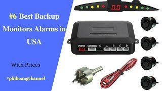 Top 6 Best Backup Monitors Alarms in USA – Best Car Products Amazon