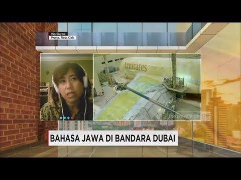 Ini Dia Dubber Bahasa Jawa di Bandara Dubai