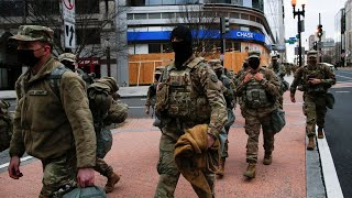 video: FBI vets National Guard troops in Washington as fears grow of insider attack at Joe Biden's inauguration