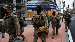 Huge security measures in place ahead of Joe Biden's inauguration