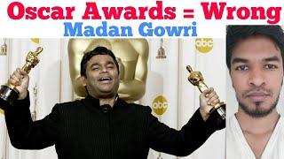 Oscar Awards = Wrong | Tamil | Madan Gowri | Academy Award | MG Vlog | The Oscars
