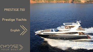 PRESTIGE 750 by PRESTIGE YACHTS (English)