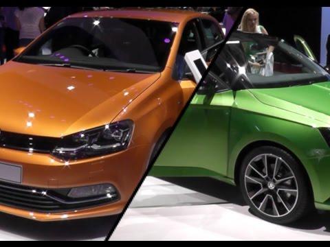 2017 Skoda Fabia vs. 2017 Volkswagen Polo