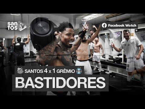 SANTOS 4 X 1 GRÊMIO | BASTIDORES | CONMEBOL LIBERTADORES (16/12/20)