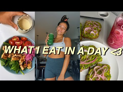 WHAT I EAT IN A DAY | healthy & easy meal ideas + recipes