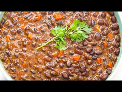 HOW TO COOK BLACK BEANS FROM A CAN
