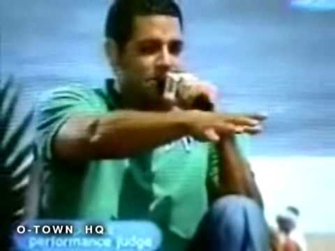 Trevor Penick from O-Town on MTV's Say What? Karaoke (2003)