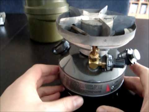 Liquid Fuel Stove Review - Part 1 - YouTube