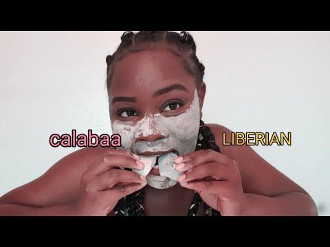 Calabaa chalk and Liberian chalk African edible clay