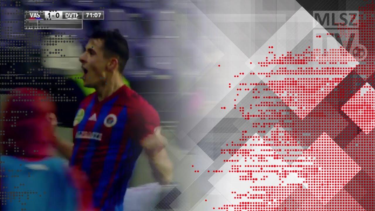 Berecz Zsombor gólja a Vasas FC - DVTK mérkőzésen