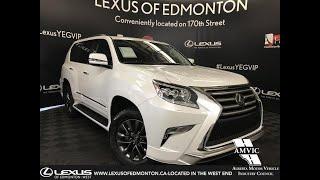 White 2019 Lexus GX 460 Technology Package Review Edmonton Alberta - Lexus of Edmonton New