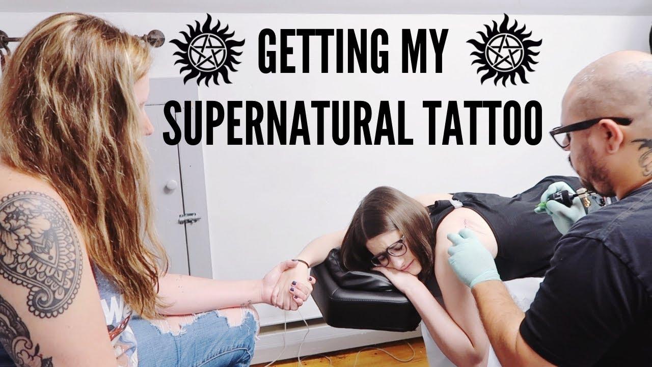 Getting A Supernatural Tattoo | My First Tattoo