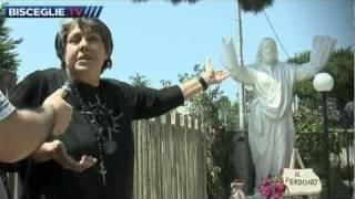 Bisceglie - Statua del Cristo di 3 metri - Scopriamo Casa della Speranza