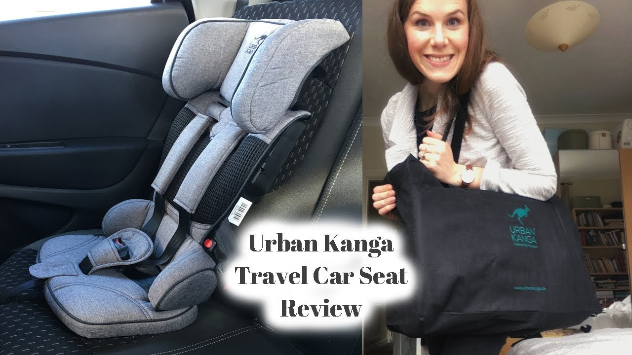Urban Kanga Portable Travel Car Seat Review