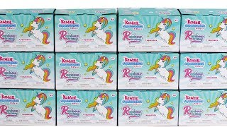 Kawaii Squeezies Series 6 Unicorns Blind Box Squishies Unboxing Toy Review