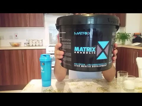 matrix-nutrition-anabolic-protein-|-chocolate-whey-|-review