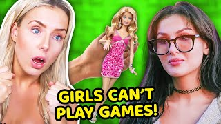 GIRLS CANT PLAY VIDEO GAMES... (dhar mann ft sssniperwolf)