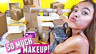My BIGGEST Makeup Unboxing Haul Ever!!