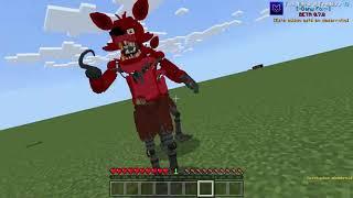 CREANDO A FOXY DESDE CERO PARTE 2   FNaF 1 Add-on MINECRAFT BE/PE   Dany Fox
