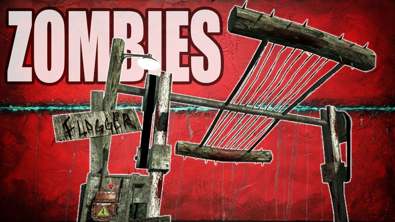 DEATH BY FLOGGER! (Call of Duty Custom Zombies)