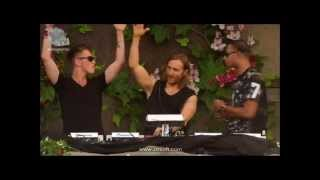 Video Nicky Romero vs David Guetta vs Afrojack - Live at Tomorrowland 2013 download MP3, MP4, WEBM, AVI, FLV April 2018