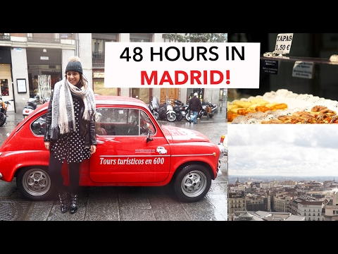 48 HOURS IN MADRID | MADRID TRAVEL VLOG & GUIDE | Frock Me I'm Famous