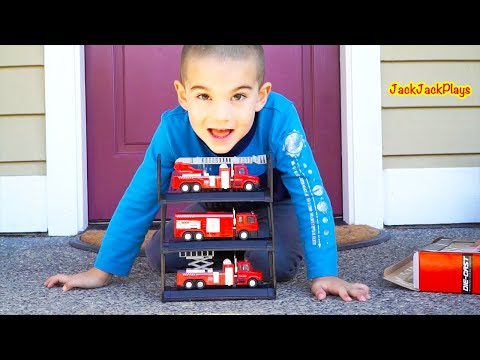 Download Youtube: Fire Trucks for Kids Surprise Toys Unboxing, Review, Jack Jack Playing