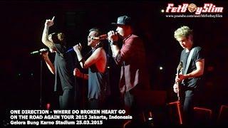 1D ONE DIRECTION - WHERE DO BROKEN HEART GO live in Jakarta, Indonesia 2015