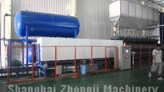 EPS Block Molding Machine for shanghai zhngji machinery