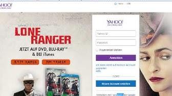 Bei Yahoo.de eine E-Mail-Adresse holen