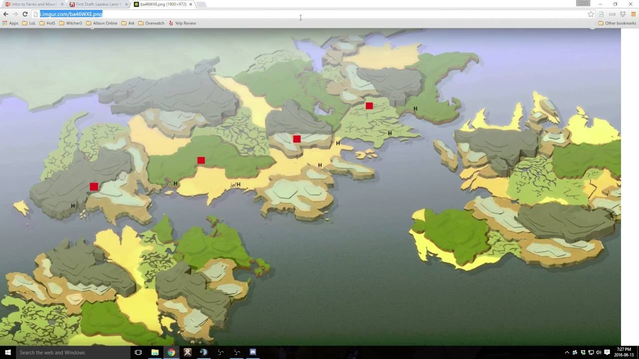 Albion Online The New Map Plus A Guide To Farms And Mounts Youtube