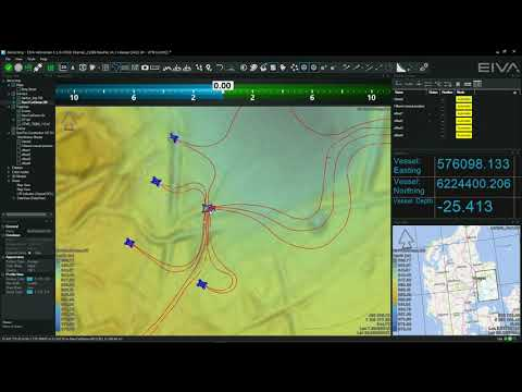 EIVA NaviSuite - Multibeam and hydrographic surveys - AutoCAD drawings in NaviPac