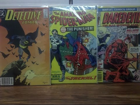 COMIC HAUL 16 (3D COVERS+A HUGE BRONZE AGE GRAIL!)