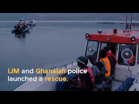 24 Boys Rescued on Lake Volta