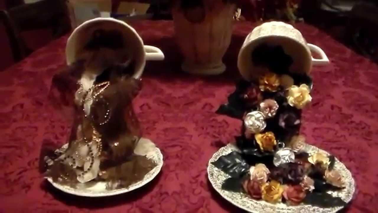 Christmas Floating Tea Cups.Floating Tea Cups