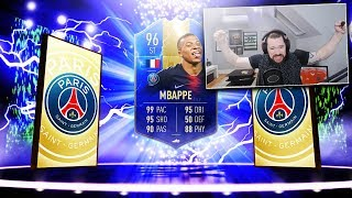 ST TOTS MBAPPE FROM AN 81+ UPGRADE PACK! - FIFA 19 Ultimate Team