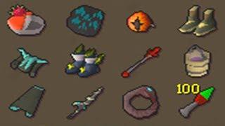 Testing All NEW Items (Dragon Hasta, Dragon Hunter Lance, Knives) OSRS