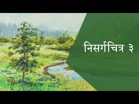 How to paint a landscape -2 | Painting Tutorial Video | Landscape Painting Demonstration