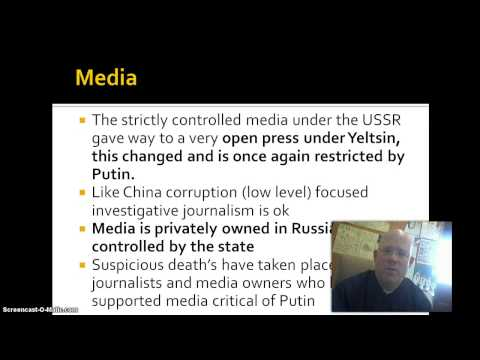 Russia - Political Institutions