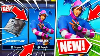 HOW TO THE NEW SKIN FREE ON FORTNITE BATTLE ROYALE 😱