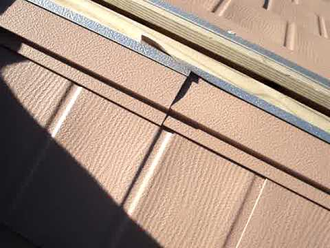 Roofing Shingles Ratings METAL ROOFING SHINGLES INSTALLATION - YouTube