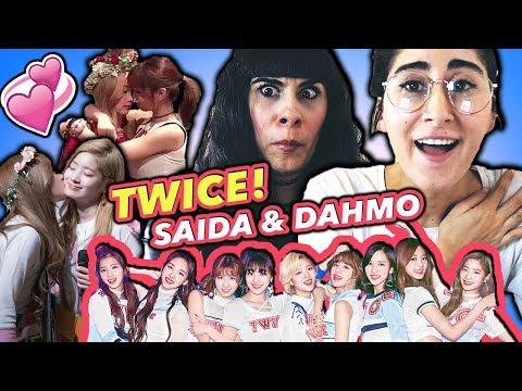 REACTING TO K-POP SHIPS: SAIDA & DAHMO of TWICE! | 트와이스 TWICE 외국인 반응