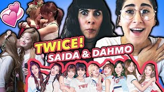 REACTING TO K-POP SHIPS: SAIDA & DAHMO of TWICE!   트와이스 TWICE 외국인 반응