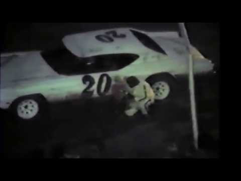 1985 Black Hills Speedway #61 trophy presentation