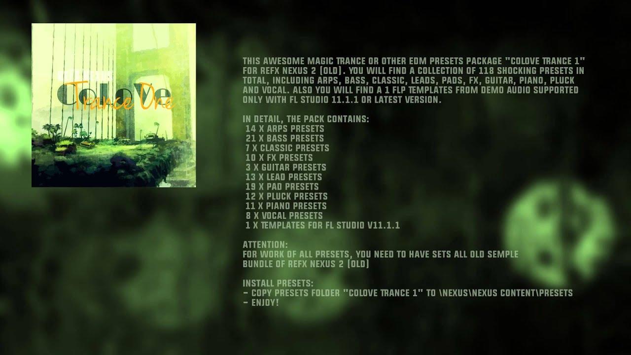 nexus pack fl studio download